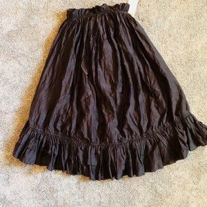 H & M Ruffled Convertible Dress / Skirt